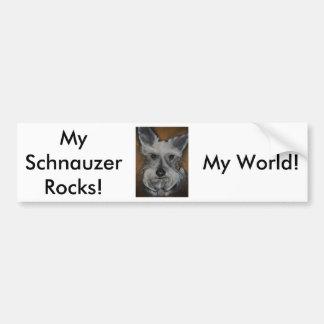 Mini Schnauzer Design No.2 Bumper Sticker