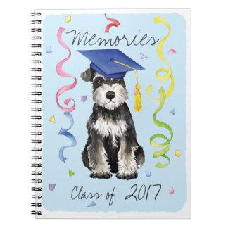 Mini Schnauzer Graduate Notebooks