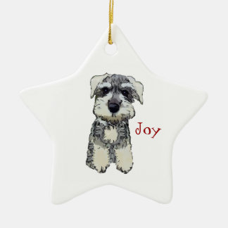 Mini Schnauzer Joy Ornament
