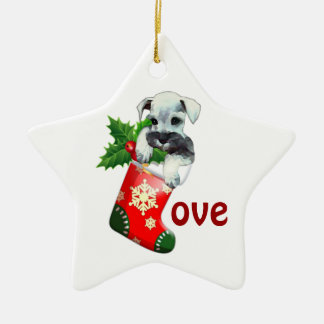 Mini Schnauzer Ornament