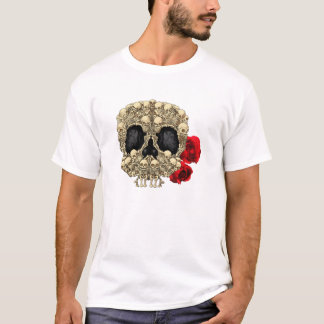 Mini Skeletons Sugar Skull T-Shirt