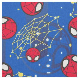 Mini Spider-Man and Web Pattern Fabric