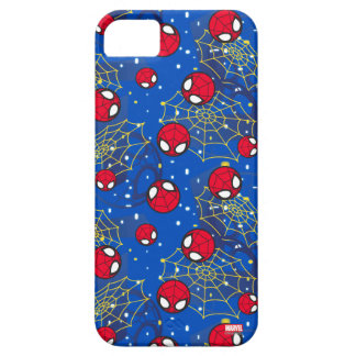 Mini Spider-Man and Web Pattern iPhone 5 Cover