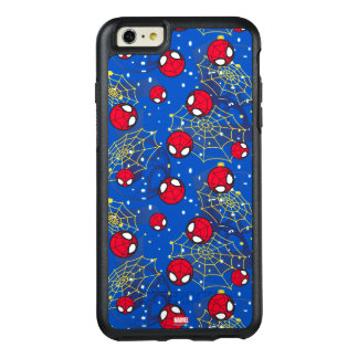 Mini Spider-Man and Web Pattern OtterBox iPhone 6/6s Plus Case