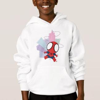 Mini Spider-Man & City Graphic