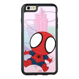 Mini Spider-Man & City Graphic OtterBox iPhone 6/6s Plus Case