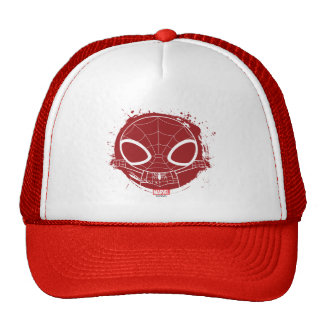 Mini Spider-Man Grunge Graphic Cap