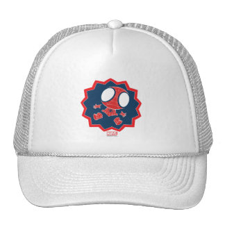 Mini Spider-Man in Callout Graphic Cap