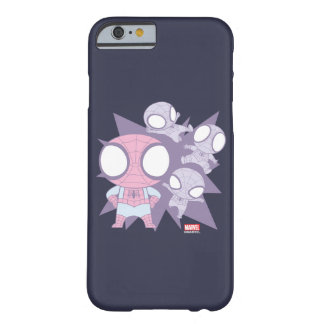 Mini Spider-Man Poses Barely There iPhone 6 Case