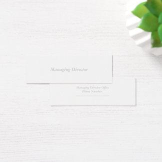 mini standard matte mini business card