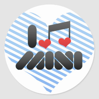 Mini Round Stickers