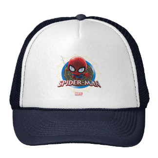 Mini Stylized Spider-Man in Web Cap
