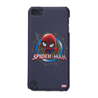 Mini Stylized Spider-Man in Web iPod Touch 5G Cover
