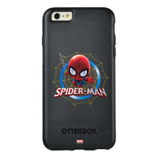 Mini Stylized Spider-Man in Web OtterBox iPhone 6/6s Plus Case