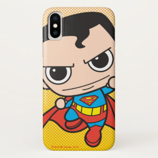 Mini Superman Flying iPhone X Case