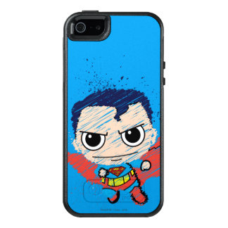 Mini Superman Sketch OtterBox iPhone 5/5s/SE Case