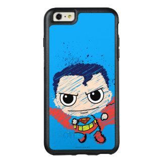 Mini Superman Sketch OtterBox iPhone 6/6s Plus Case