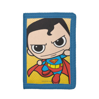 Mini Superman Trifold Wallet