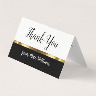 Mini Thank You Notes Card