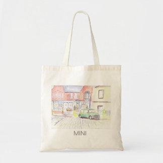 Mini tote shopping bag