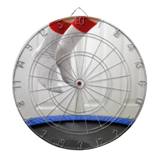 Mini Trampoline Jumping Dartboard