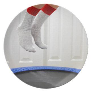 Mini Trampoline Jumping Plate