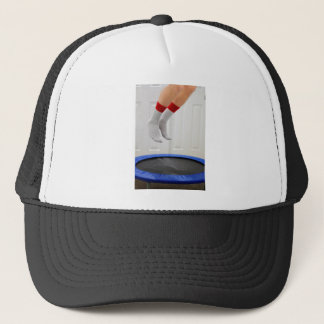 Mini Trampoline Jumping Trucker Hat