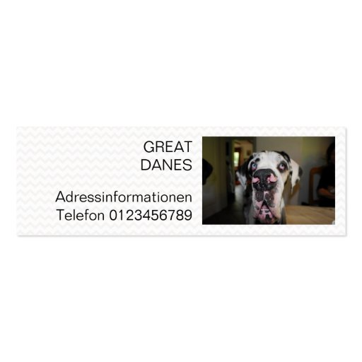 Mini visiting cards business card template