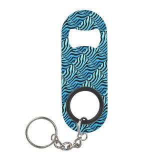 Mini Zebra Stripe Pattern Opener With Key Chain