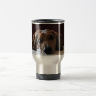 Miniature Dachshund Travel Mug