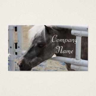 Miniature Horse Business Card