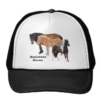 Miniature Horse mug design Cap