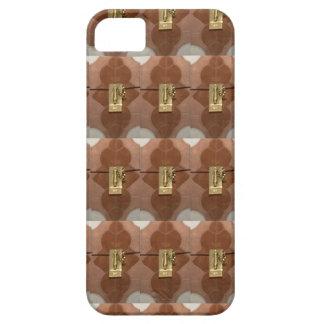Miniature lock pattern brass shine fashion DIY fun iPhone 5 Cover