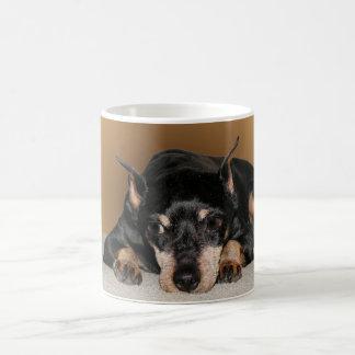 Miniature Pinscher aka Min Pin Coffee Mug