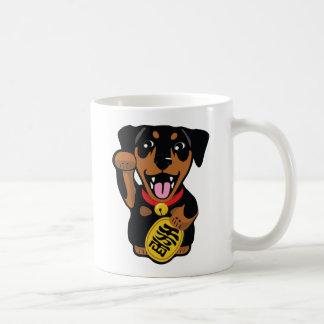 Miniature Pinscher Black Min Pin Dog Coffee Mug