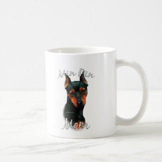 Miniature Pinscher (blk) Mom 2 Coffee Mug