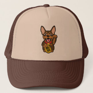 Miniature Pinscher Chocolate Min Pin Dog Owner Hat