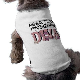 Miniature Pinscher DIVA Dog Tee