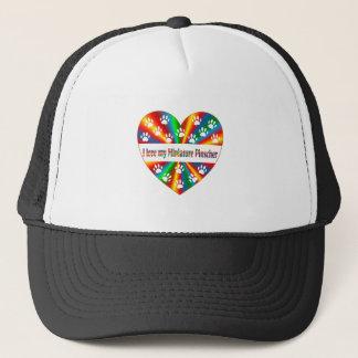 Miniature Pinscher Love Trucker Hat