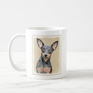 Miniature Pinscher Painting Cute Original Dog Art Coffee Mug