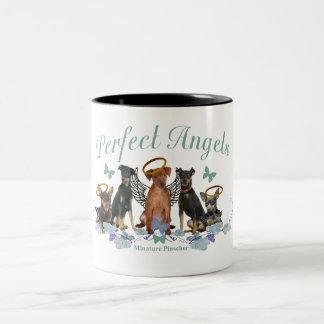 Miniature Pinscher Perfect Angels Mugs