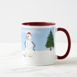 Miniature Pinscher Winter Scene Mug