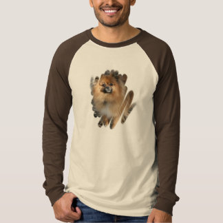 Miniature Pomeranian Men's Long Sleeve Shirt