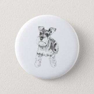 Miniature Schnauzer Badge