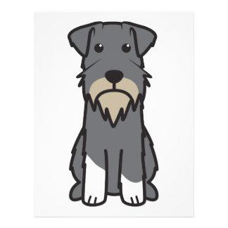 Miniature Schnauzer Dog Cartoon 21.5 Cm X 28 Cm Flyer