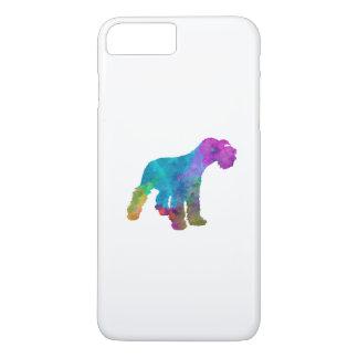 Miniature Schnauzer in watercolor iPhone 8 Plus/7 Plus Case