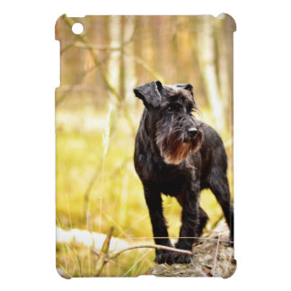 miniature-schnauzer iPad mini case