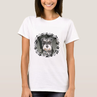 Miniature Schnauzer Photo T-Shirt