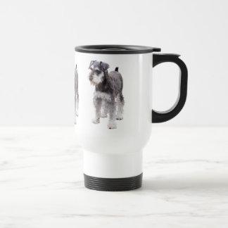 Miniature Schnauzer Stainless Steel Travel Mug