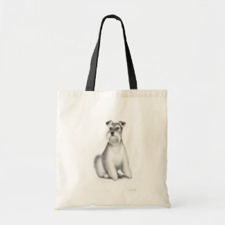 Miniature Schnauzer Striped Bag